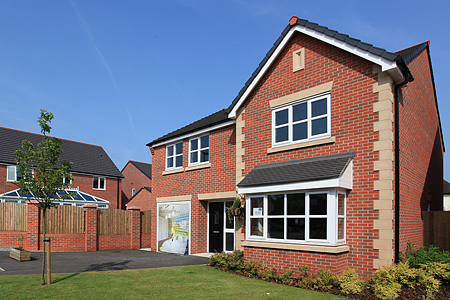 Hanson Bricks at Bellway Homes