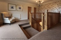 Oak bespoke balustrade