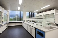 Liverpool university chemistry lab