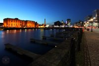 Looking across Salthouse Dock, Liverpool